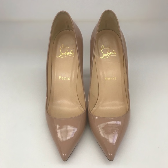 7cab0911e89 Christian Louboutin Pigalle 100 Nude Size 35.5